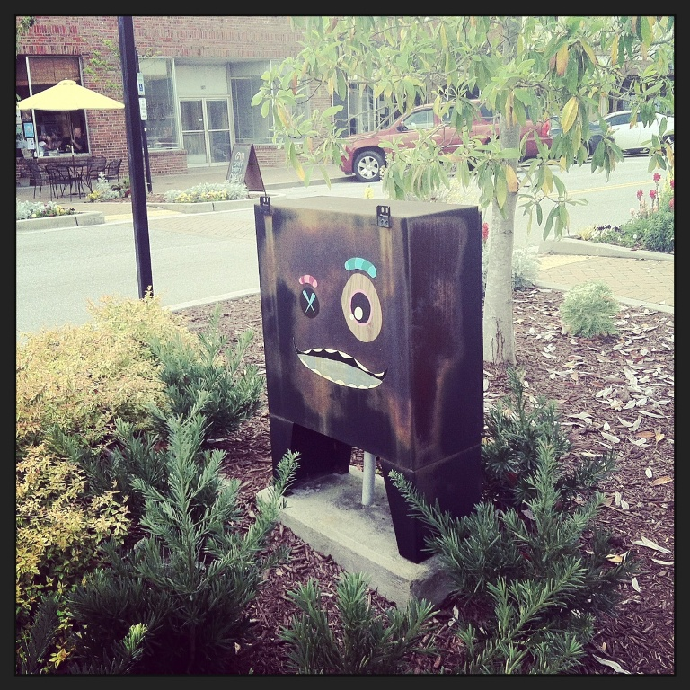 Art in Park Circle - Patch Whisky - Electrical Box