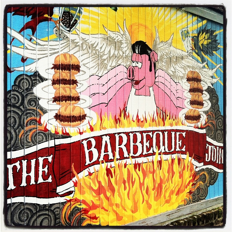 Art in Park Circle - The Barbeque Joint