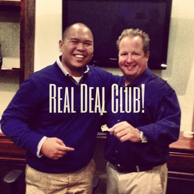 Mike Real Deal with Neil Club