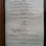 Fratello's New Menu 1