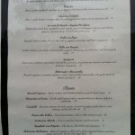 Fratello's New Menu 2