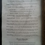 Fratello's New Menu 3