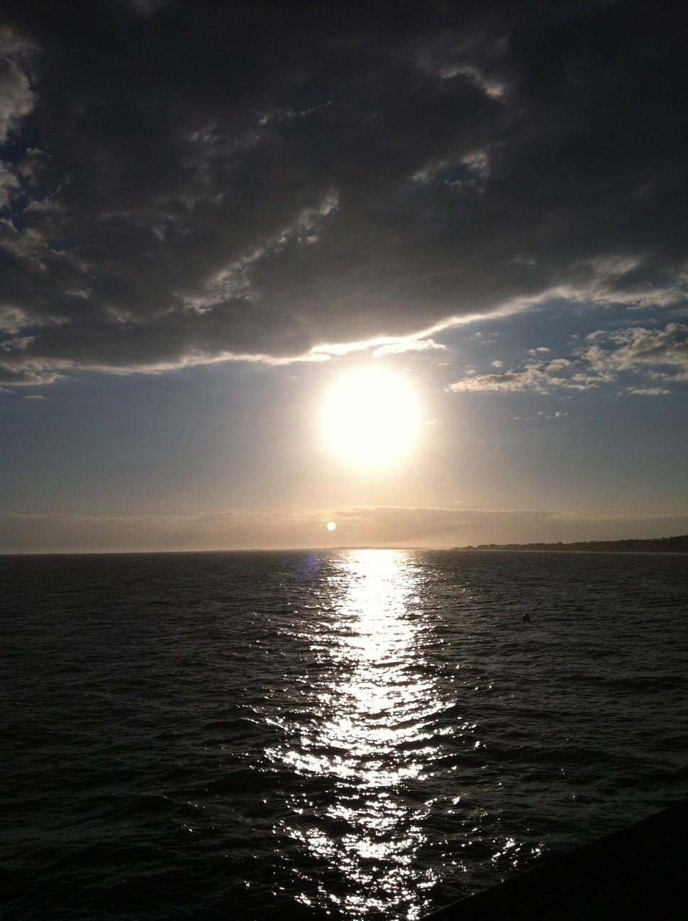 Charleston Sunset at Folly Beach