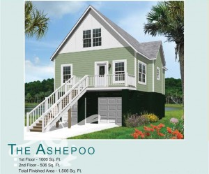 Hunley Waters - Park Circle, North Charleston - Ashepoo Floor Plan - Real Deal with Neil