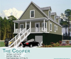 Hunley Waters - Park Circle, North Charleston - Cooper Floor Plan - Real Deal with Neil