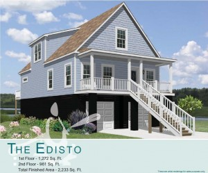 Hunley Waters - Park Circle, North Charleston - Edisto Floor Plan - Real Deal with Neil