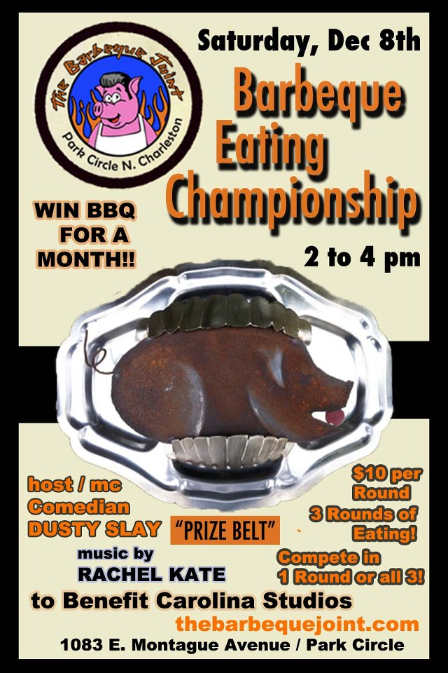 Barbeque Eating Championship at The Barbeque Joint in Park Circle