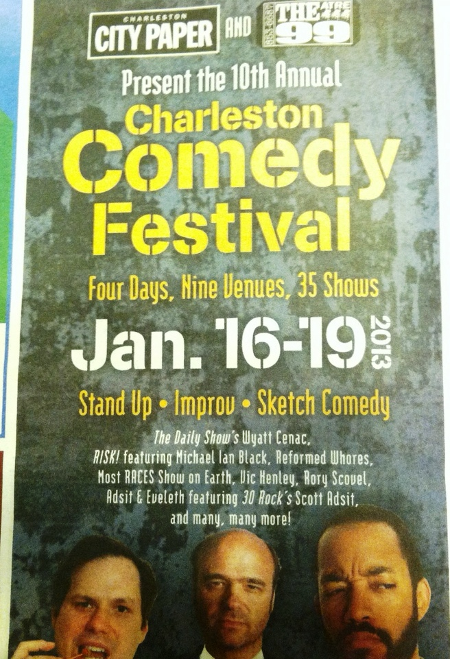 The Most RACES Show on Earth! at the Charleston Comedy Festival