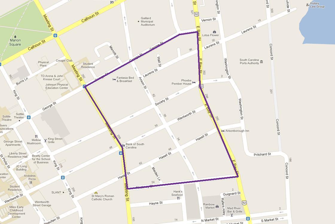 Ansonborough Neighborhood Map - Real Deal with Neil