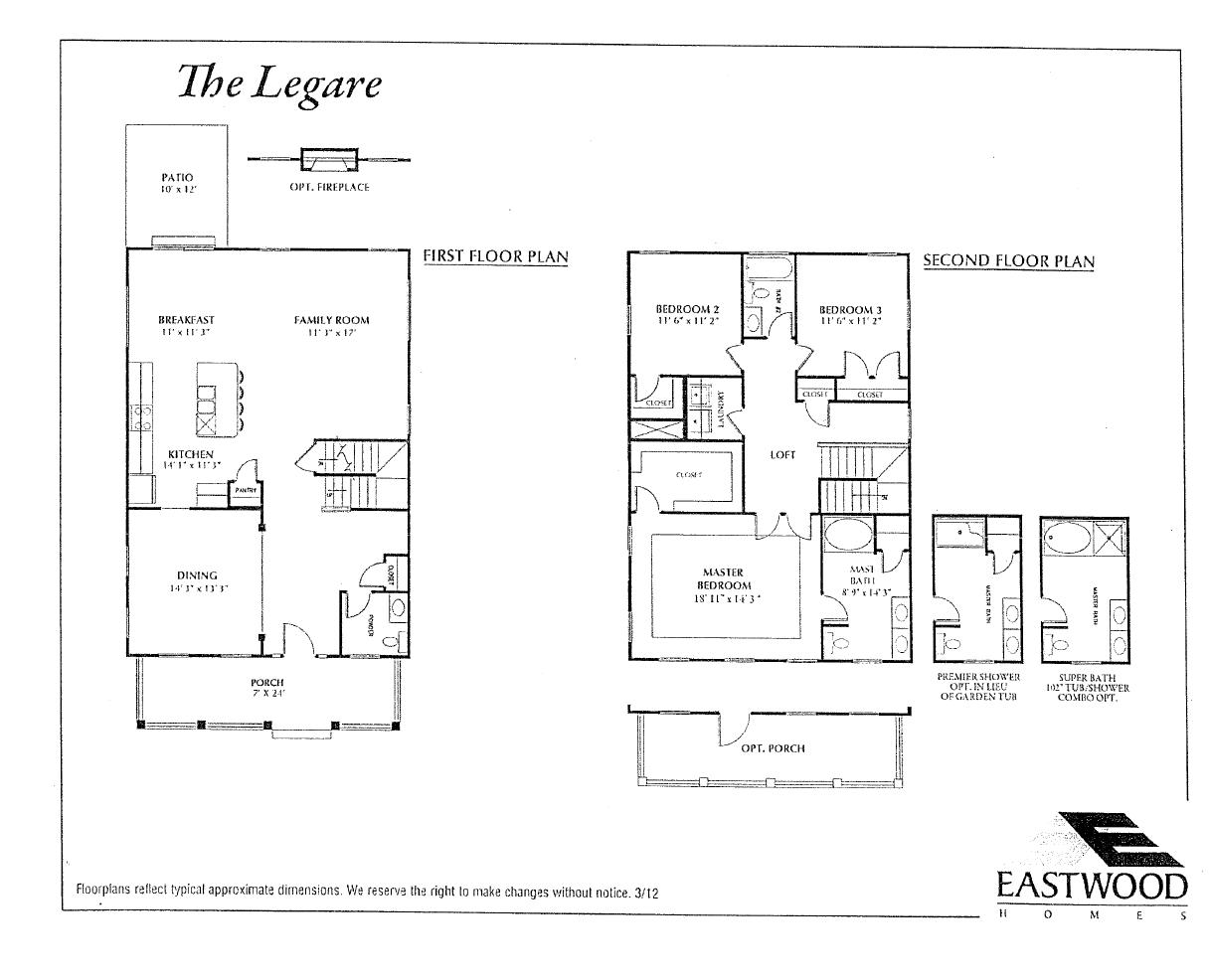 eastwood homes oak terrace preserve park circle north charleston floor plan