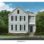 The Magnolia Floor Plan - Crescent Homes - Oak Terrace Preserve