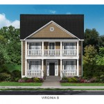 The Virginia Floor Plan - Crescent Homes - Oak Terrace Preserve