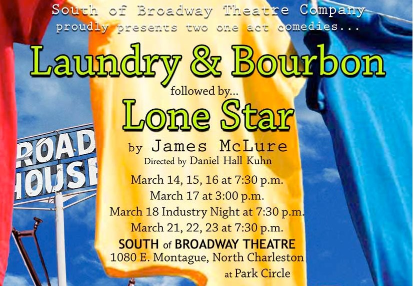 laundry bourbon and lone star essay The setting for laundry and bourbon is the front porch of roy and elizabeth's home in maynard, texas, on a hot summer afternoon elizabeth and her friend hattie are whiling away the time folding laundry, watching tv, sipping bourbon and coke, and gossiping about the many open secrets which are so much a part of small-town life.