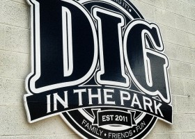 Dig in the Park - Park Circle - Sign - Real Deal with Neil