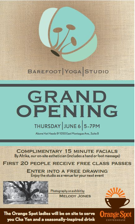 Barefoot Yoga Studio Grand Opening - Park Circle, North Charleston - Real Deal with Neil