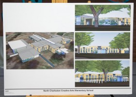 North Charleston Creative Arts Elementary Concept Drawing