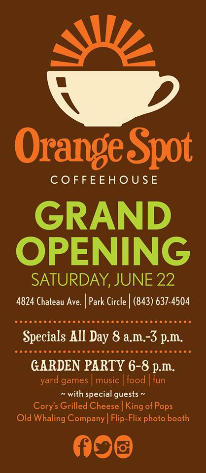 Orange Spot Grand Opening - Real Deal with Neil
