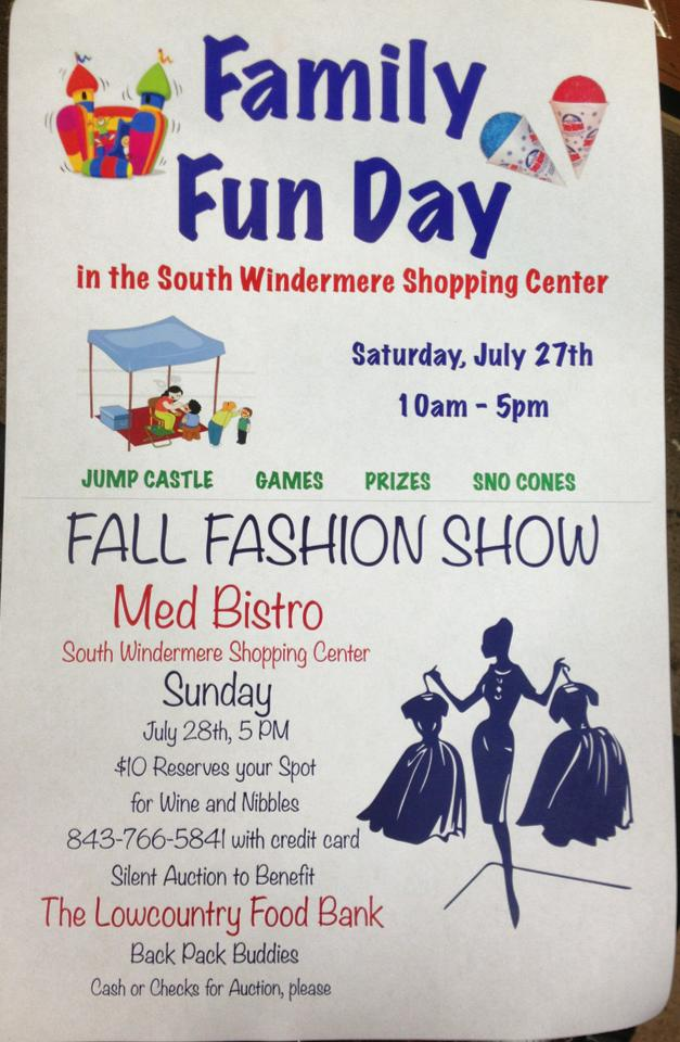 Family Fun Day at South Windermere Shopping Center