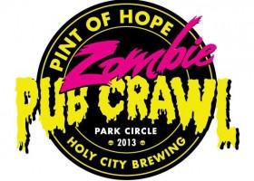 Zombie Pub Crawl 2013 - Park Circle