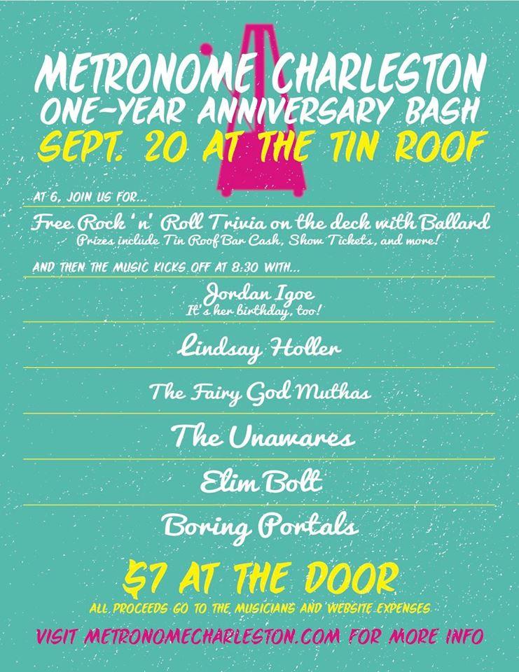 Metronome Charleston One-Year Anniversary Bash!