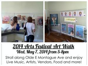 2014 Arts Festival Art Walk