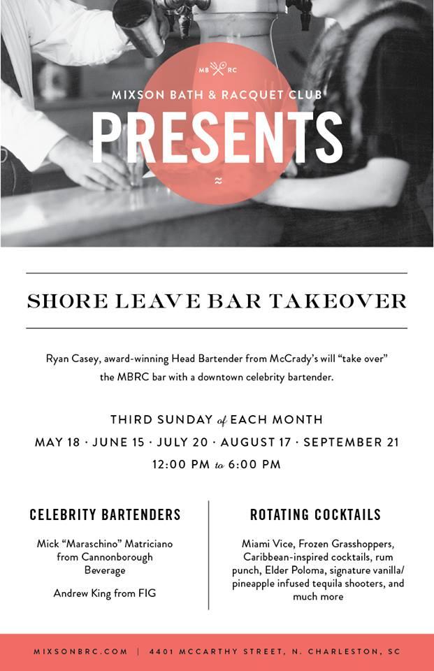 Shore Leave Bar Takeover - Mixson