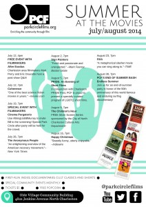 Park Circle Film Society - Summer at the Movies