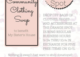 Community Clothing Swap at The Orange Spot