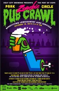 Pint of Hope Zombie Pub Crawl