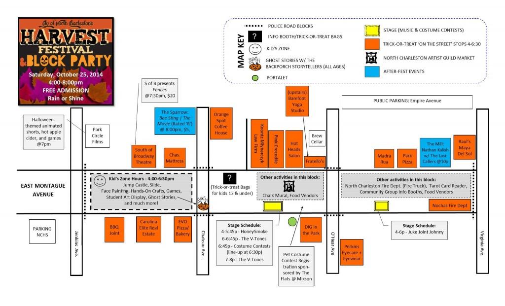 Harvest Festival Map