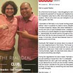 Real Deal Club Inductee: Brandon