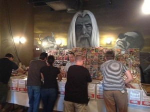 Taking Flight Comic Book Show @ The Sparrow