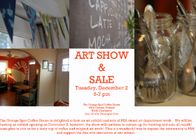 Drawn to Digital Art Show & Sale - Orange Spot Coffee House