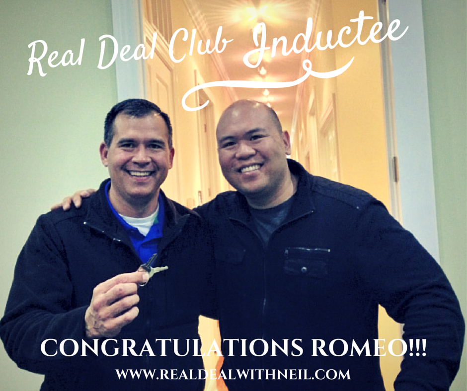 Real Deal Club Inductee: Romeo