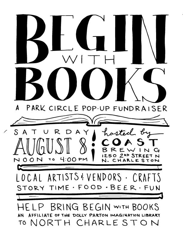 Begin with Books - A Park Circle Pop-Up Fundraiser