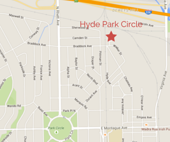 Hyde Park Circle Location