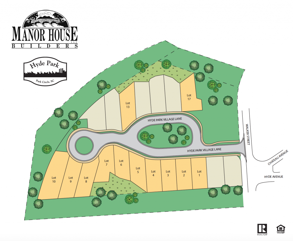 Hyde Park Village Park Circle S Newest Home Subdivision