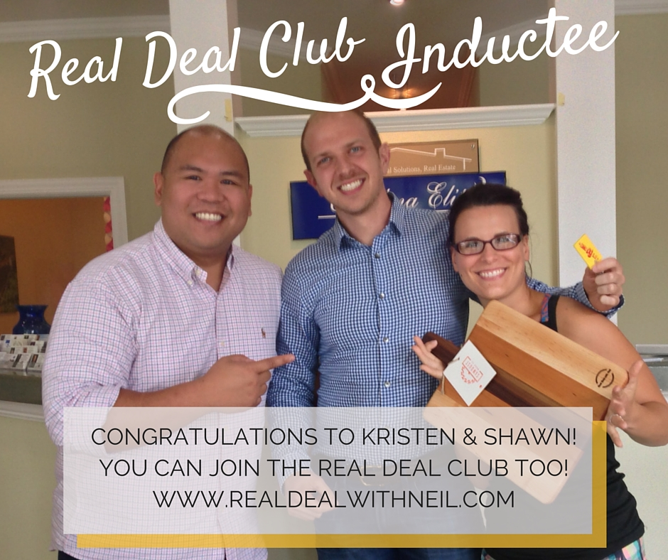 Real Deal Club Inductee: Kristen and Shawn