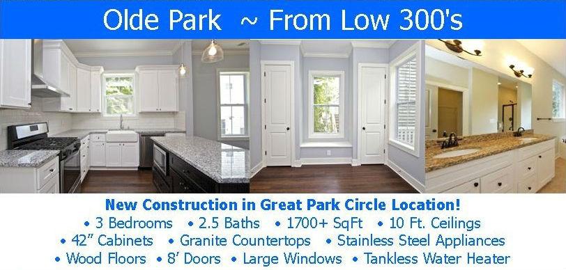 Park Circle New Construction
