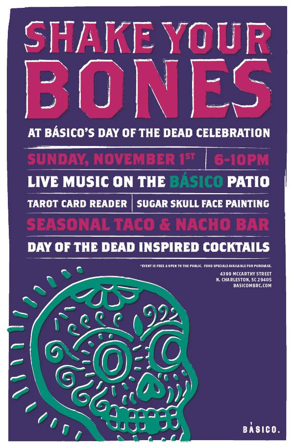 Shake Your Bones - Day of the Dead Celebration @ Basico