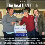 Real Deal Club Inductees: Josh and Kelly