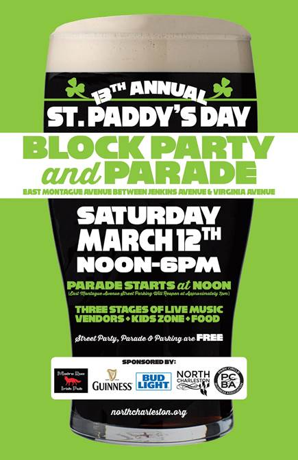 St. Paddy's Day Block Party and Parade 2016