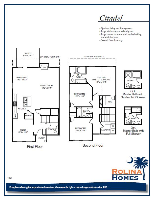 Garco Cottages - Citadel B Floor Plan