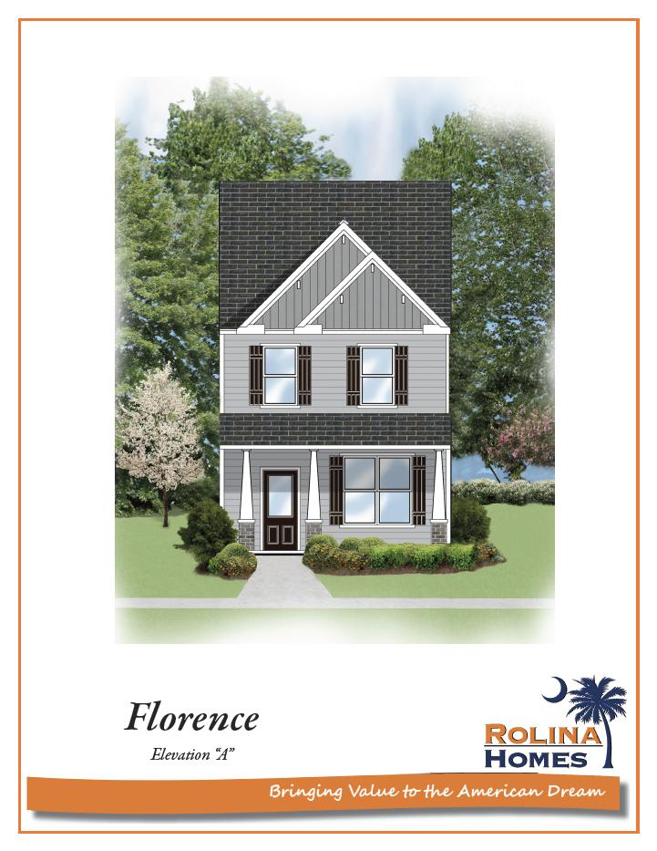Garco Cottages at Park Circle - Florence A Elevation