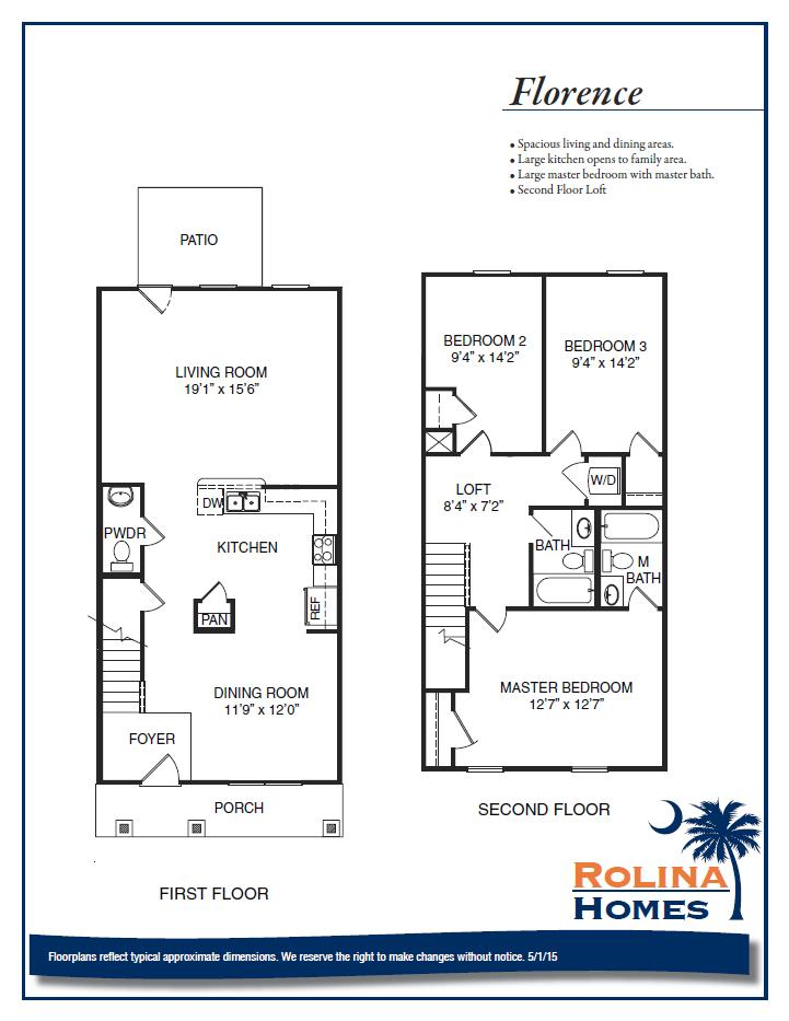 Garco Cottages at Park Circle - Florence A Floor Plan