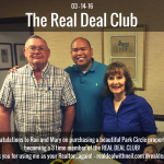 Real Deal Club Inductees: Ron and Mary