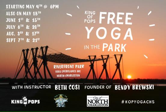 Free Yoga in the Park - King of Pops