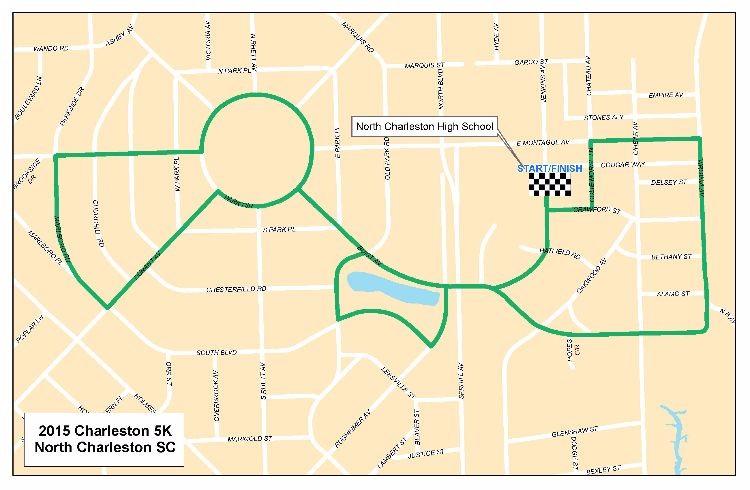 Hippie Dash Race Route