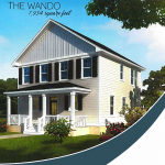 The Wando - Charleston Landmark Builders - Oak Terrace Preserve Phase 3
