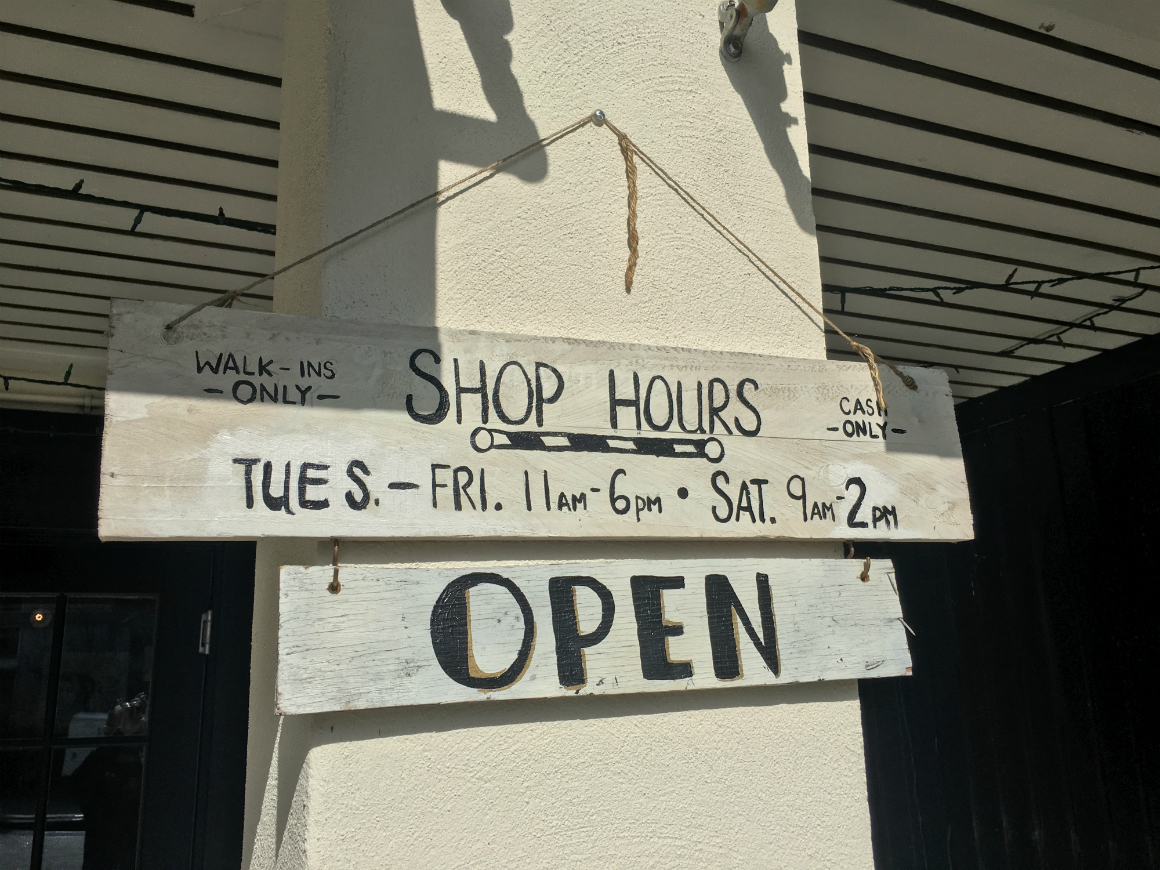 Barber Hours : Holy City Barber Hours - Mixson